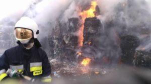 Podpalenia wysypisk w Polsce 2018